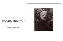 E.Kapelaan Henricus Roosen