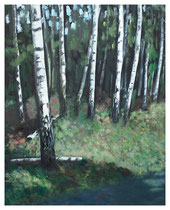 180 x 145 cm, Öl auf Baumwolle, 2009