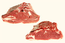 Chuletas. Es una pieza muy apreciada. Su carne es magra, tierna y melosa. Los cortes tienen muy buena presencia. Puede ser del lomo alto o lomo bajo (especificar en el pedido la preferencia).