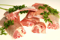 Chuletas de palo y de riñonada de cordero. Ideales para hacer a la brasa o a la plancha, especificar al hacer el pedido el tamaño del grosor que desea, para cortarlo a su gusto.