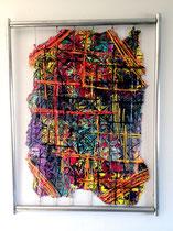 fardeau :  Acrylique 71x55cm