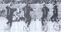 4er Einradfahren 2001