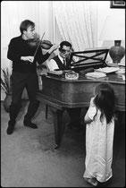 Ivry Gitlis, chez Gorgi Cszifra, 1966