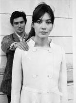 Françoise Hardy et Sami Frey, 1965