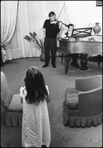 Ivry Gitlis, repétant chez Gorgi Cszifra, 1966