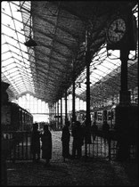 la gare Montparnasse en 1959, avant sa démolition