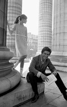Sami Frey et Françoise Hardy, 1965