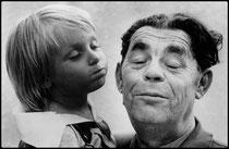 Benjamin et son grand père...