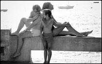 Claude Chabrol en famille, le Pila  1972