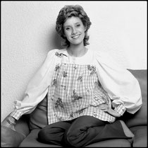 Danièle Gilbert, présentatrice télé 1967