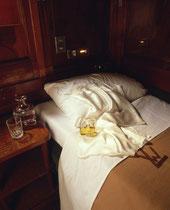 dans l'Orient Express, pour le parfum de Lancôme
