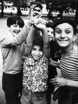 gamins place des Vosges, 1970