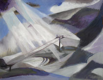 0518 Feldberg, Öl auf Leinwand