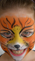 Tiger copyright schminkfee