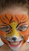 Tiger copyright schminkfee