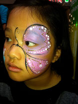 Schmetterling copyright schminkfee