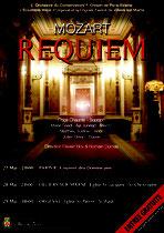 Affiche Concert Requiem de Mozart - juin 2016 - Villiers sur Marne