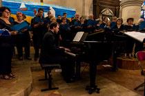 Concert Requiem Haydn juin 2017 - Villiers sur Marne Alexandre Korovitch au piano Crédit Photo http://www.photimage94.fr/