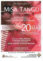 Affiche Concert du Jumelage Villiers sur Marne - 20 mai 2018