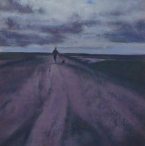 Wandeling No.3 -2010- Mixed media on paper/30x30cm