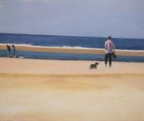 Wandeling No.11 -2010- Mixed media on canvas/50x60cm
