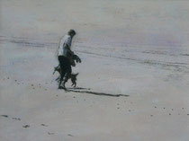 Wandeling No.7 -2010- Mixed media on paper/32x41cm / Sold- Private collection in Zwijndrecht, Nederland