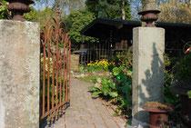 Eingang zum Teichgarten