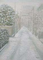 4《雪の道》  F4/¥10,000(税込)