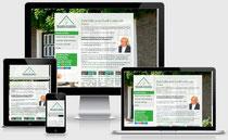 Internetseite und Optimierung Marseille Immobilien in Duisburg