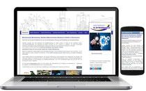 Unternehmens Website Norbert Striebosch - Oberhausen - Neugestaltung und Suchmaschinenoptimierung