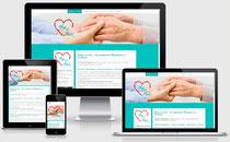 Pflege mit Herz D&K Gärtner GmbH & Co.KG - Pflegedienst in Duisburg - Webdesign