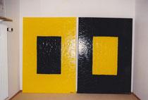 Nr. 21 Öl auf Leinwand (verkauft) 2 x 140 x 100