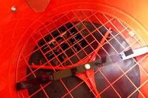 Zellofant zweitsufige Auflockerung und Häckselwerk über der Schleuse.