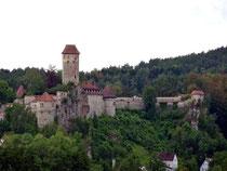 Burg Veldenstein, Blick aus der Ferienwohnung