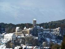 Burg Veldenstein im Winter