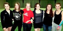 Juniorinnen U18, v.l.n.r. Morgane Rupprecht, Maja Fehlberg, Vanessa Schröter, Aliyah Rathjen, Sarah Cornehl, Leah Meier
