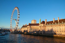 Das Riesenrad London Eye - City of Westminster