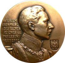 """Bild: Goldmedaille Berlin 1907, Deutsche-Armee-Marine u. Kolonial-Ausstellung für die """"Thermos"""""""