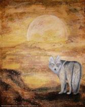 Der Ruf des Wolfes ..Dieses Bild ist nicht mehr zu haben♥