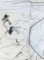 Bildausschnitt einer Zeichnung 70x50 cm