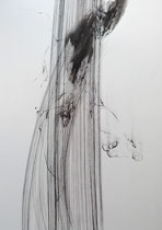 70x50 cm, Tusche/ Kohle auf Papier, verkauft