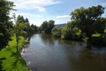 Die Fulda in Kerspenhausen