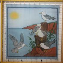 Birds (90 x 90 cm)