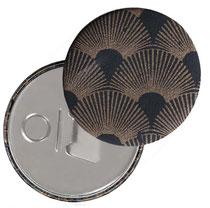 Button Flaschernöffner mit Magnet