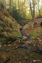 Landschapsfotografie: Le Ninglinspo nabij Aywaille (Wallonië, België).