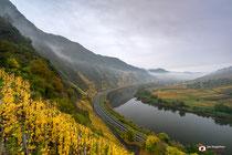 Landschapsfotografie: Ediger Eller nabij Bremm (Duitsland)
