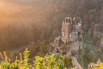 Landschapsfotografie: Burg Eltz nabij Wierschem  (Rijnland-Palts, Duitsland).