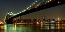 Skyline by Night NYC 2009 by Ralf Mayer