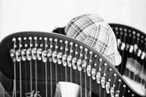 casquette et harpes