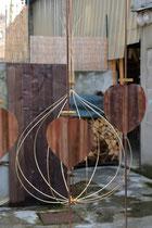 Cage d'amour 2, kiosque Peynet Valence©éricMaulavé